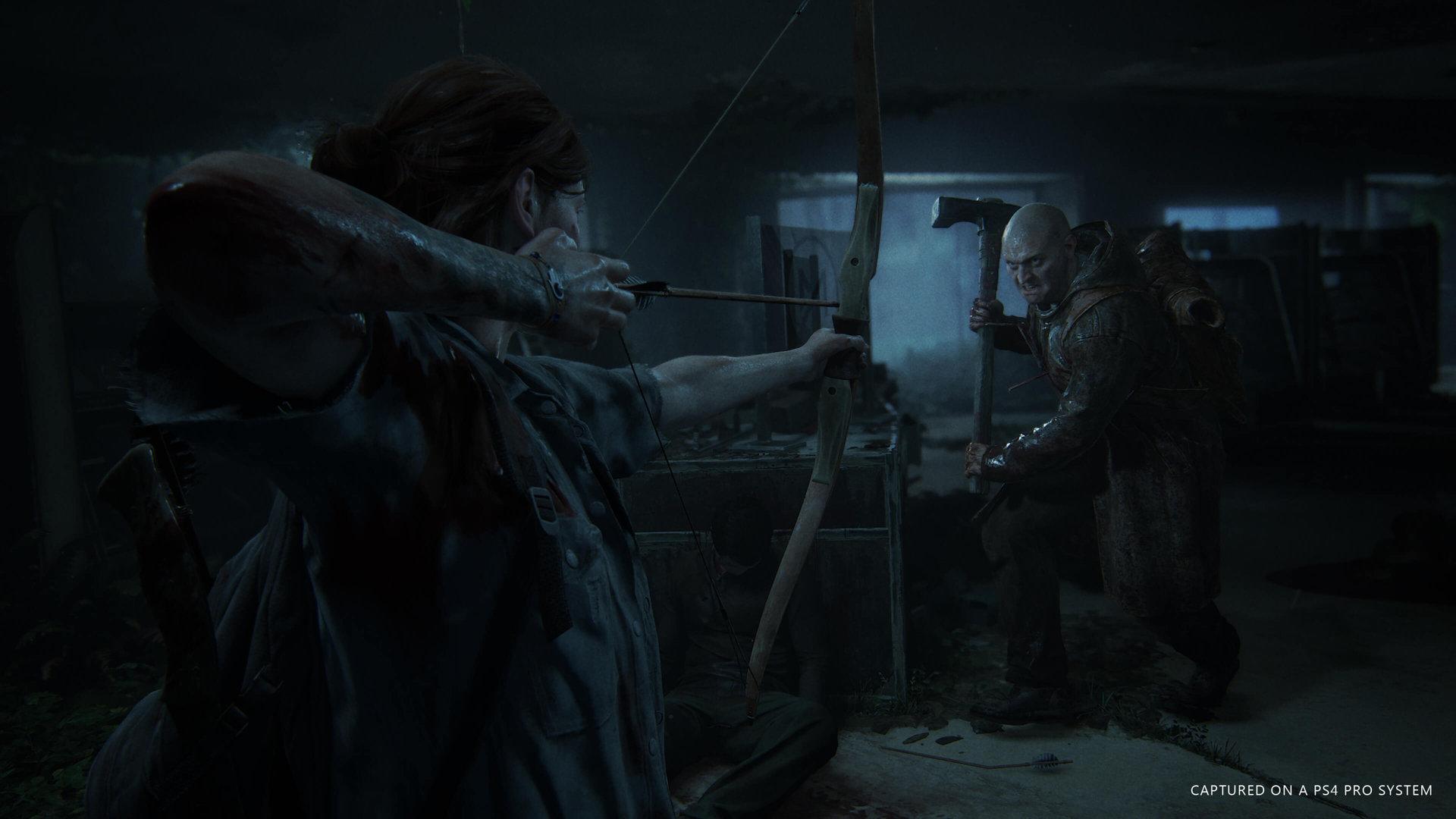 القتال المباشر في إيلي The last of us 2